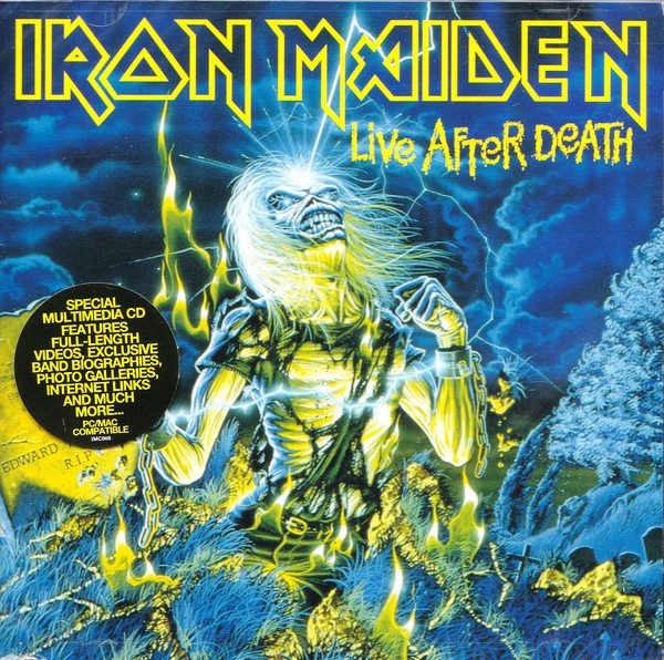 HEAVY METAL 80/85. Los directos IRON-MAIDEN-LIVE-AFTER-600x596